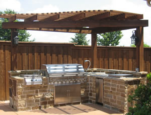 Bbq Outdoor Kitchen Contractor In San Antonio Tx